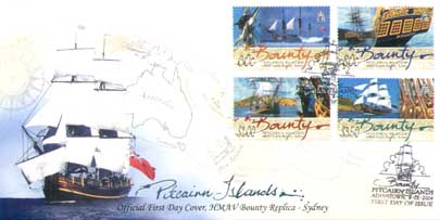 Bounty Stamps FDC
