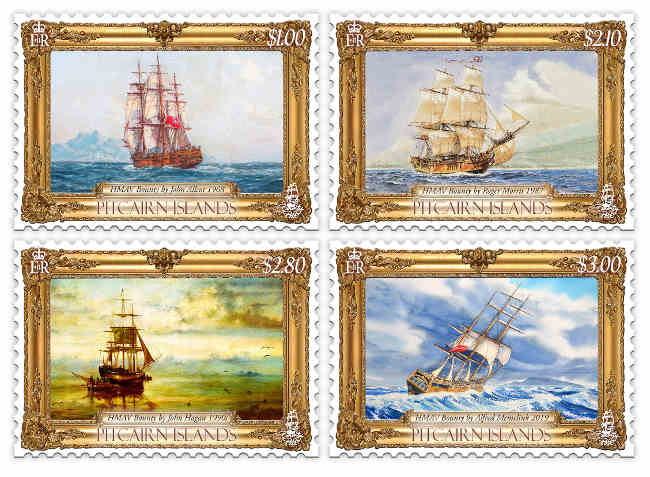 Paintings of the Bounty