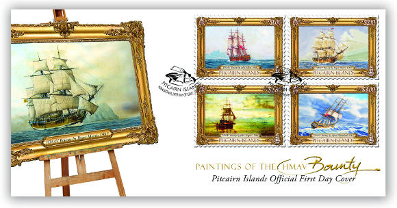 Paintings of the Bounty FDC